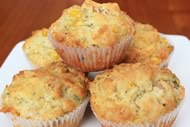 Bacon, Cheese, Corn Muffins Image