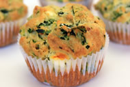 Spinach and Feta Muffins Image