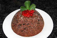 Gluten Free Steamed Christmas Pudding